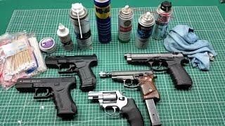 getlinkyoutube.com-Schreckschusswaffen Reinigen / Ölen