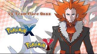getlinkyoutube.com-Pokémon X/Y - Vs Team Flare Boss Music HD (Official)