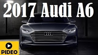 getlinkyoutube.com-2017 Audi A6, will makes its debut in Detroit a month from now