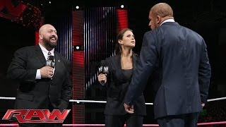 getlinkyoutube.com-Stephanie McMahon rehires Big Show: Raw, Nov. 4, 2013