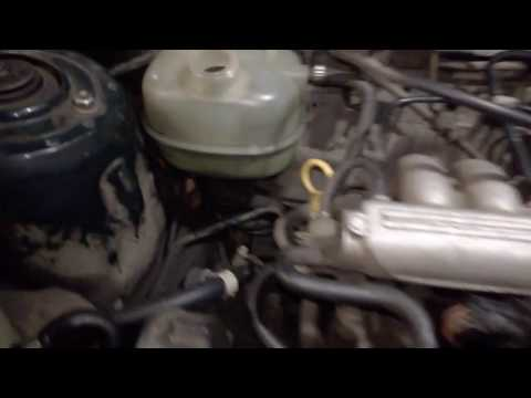 Rover 214i Замена корпуса термостата, малый и большой круг охлаждения