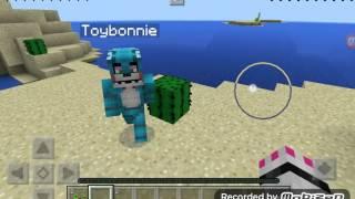 getlinkyoutube.com-Mangle x toy bonnie Minecraft gift endergirl1212