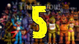 getlinkyoutube.com-¿Porqué Habra Un Five Nights At Freddy's 5 O Otro Juego De FNAF? | FNAF 4
