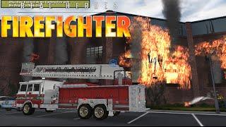 Real Heroes: Firefighter #2 - Incêndio em fábrica