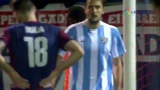 SD Eibar 1-2 Malaga CF RESUMEN LaLiga J22