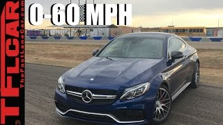 getlinkyoutube.com-2017 Mercedes-AMG C63 S 0-60 MPH Review: Faster Than a Hellcat?