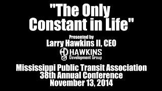 Mississippi Public Transit Association Conference - Session 1 - November 13, 2014 | HawkDG
