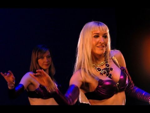 Neon, Angelys, Jenna Rey :: Belly dance performance