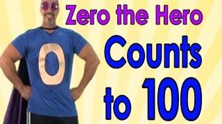 getlinkyoutube.com-Zero The Hero | Count to 100 | 100 Days of School | Jack Hartmann