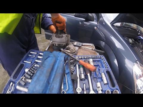 Где щетки генератора в Opel Сигнум