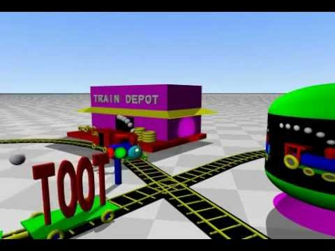 Toot The Little Toy Train For Kids - Part A