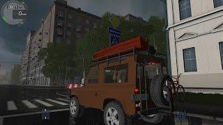 getlinkyoutube.com-City Car Driving 1.5.2 Land Rover Defender TrackIR 4 Pro [1080P]