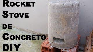 getlinkyoutube.com-DIY Hornito de cemento (Rocket Stove) - Cosas Prepper