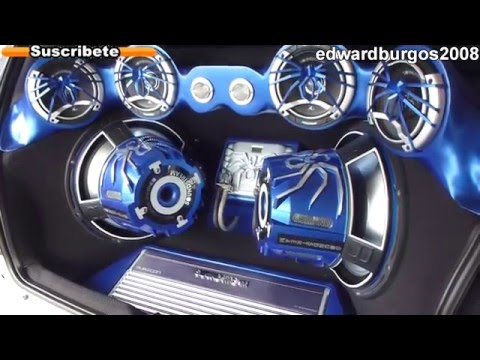 peugeot 206 Tuning modificado soundstream car audio puertas verticales rines de lujo 2012 FULL HD