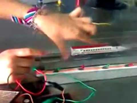 tren de levitación magnética