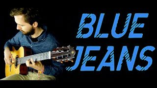 Lana Del Rey - Blue Jeans - Fingerstyle (Classical guitar) + TABS