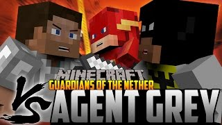 Batman and Flash vs Agent Grey! (Minecraft Roleplay)