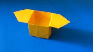 getlinkyoutube.com-Cara Membuat Origami Box Sanbo | Origami Box
