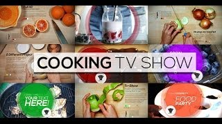 getlinkyoutube.com-Cooking TV Show (After Effects Template)