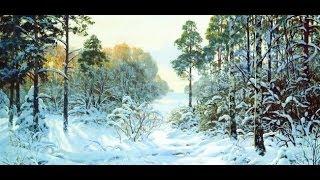 getlinkyoutube.com-Живопись: Пишем зимний пейзаж