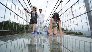 getlinkyoutube.com-Largest Glass Bridge Worldwide in China