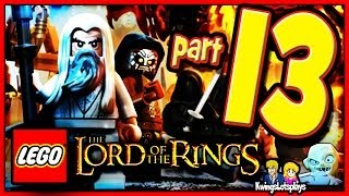 getlinkyoutube.com-Lego the lord of the rings - Walkthrough Part 13 Secret Stairs