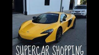SUPERCAR SHOPPING