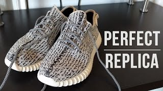 getlinkyoutube.com-Perfect Replica - Adidas Yeezy Boost 350 - Dove Grey / All Colors - 75$