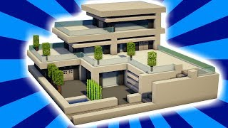 Cara Membuat Rumah Modern Di Minecraft Pe