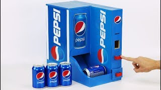 How to Build Money Operated Pepsi Vending Machine