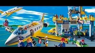 getlinkyoutube.com-Building a playmobil airport part 2 -stop motion-