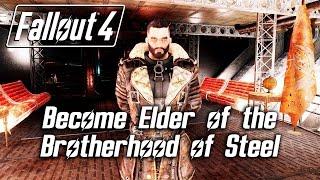 getlinkyoutube.com-Fallout 4 - Become Elder of the Brotherhood of Steel (Cut Content) *SPOILERS*