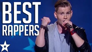 getlinkyoutube.com-TOP 5 BEST RAPPERS on Got Talent From Across The World! | Got Talent Global