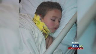 Mom has message for kids after son is critically injured