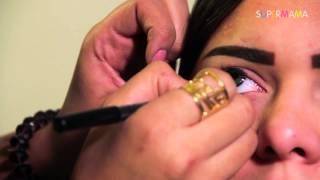 getlinkyoutube.com-طريقة سهلة لرسم العين الواسعة مع نانيس سليم