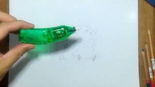 getlinkyoutube.com-รีวิว ยางลบติดมอเตอร์ กับ วาดการ์ตูน กันเถอะ