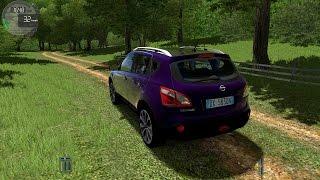 getlinkyoutube.com-City Car Driving 1.5.1 Nissan Qashqai TrackIR 4 Pro [1080P]