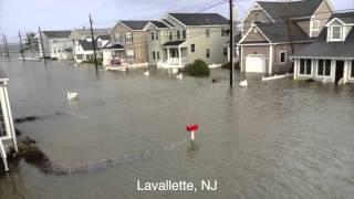 Hurricane Sandy Raw Footage - Seaside Heights Jersey Shore, NJ