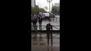 Stromae bourré à Bruxelles