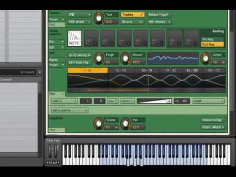 Native Instruments - Kontakt 4 - Tutorial - Authentic Expression Technology (Part 3 of 3)