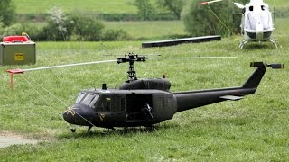 getlinkyoutube.com-Vario Helicopter Bell 205 UH-1D RC Giant Scale Model