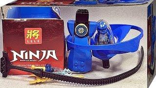 getlinkyoutube.com-LELE 중국 문방구 짝퉁 레고 닌자고 에어짓주 제이 70740 헬리콥터 장난감 조립 리뷰 Lego knockoff ninjago Airjitzu Jay Flyer