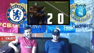 La liga fans react to: Chelsea vs Everton 2-0 Full Highlights