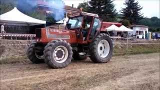 getlinkyoutube.com-Fiat 180-90 800hp pure power 2° Tractor Pulling Valtiglione