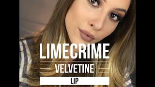 getlinkyoutube.com-LIMECRIME Lip Swatch Video   HANNNAHJENSEN