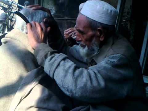 modern period and old method of Hair cutting charsadda pakistan