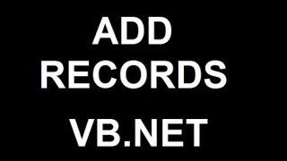 getlinkyoutube.com-Add Records using Visual Basic 2008 and MS Access