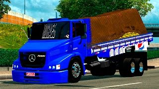 getlinkyoutube.com-EURO TRUCK SIMULATOR 2-MOD-  MB ATRON 2324 + INTERIOR