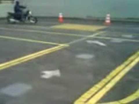teste de moto ciretran apucarana
