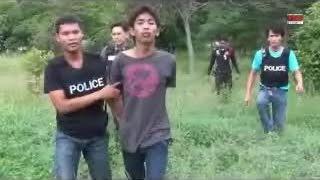 getlinkyoutube.com-ตร.แสนสุข ปิดล้อมล่า 2 โจ๋เหอมชักปืนไทยประดิษฐ์ยิงตำรวจ